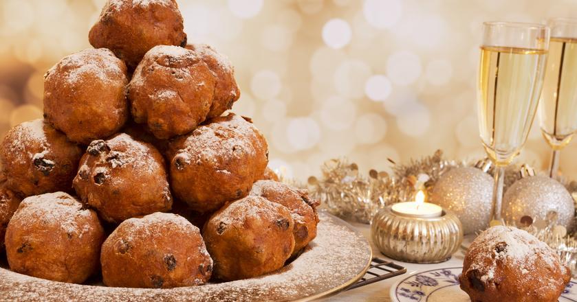 Oliebollen - noworoczne pączki w Holandii