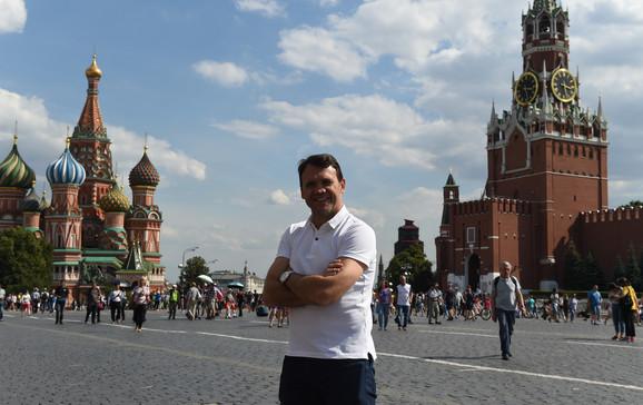Dejan Rambo Petković u Moskvi, pred duel Srbije i Brazila
