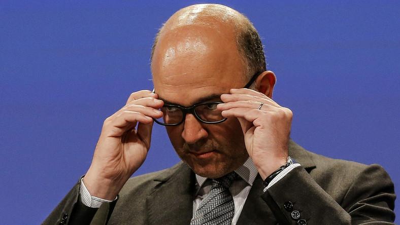 Komisarz ds. gospodarki, Pierre Moscovici
