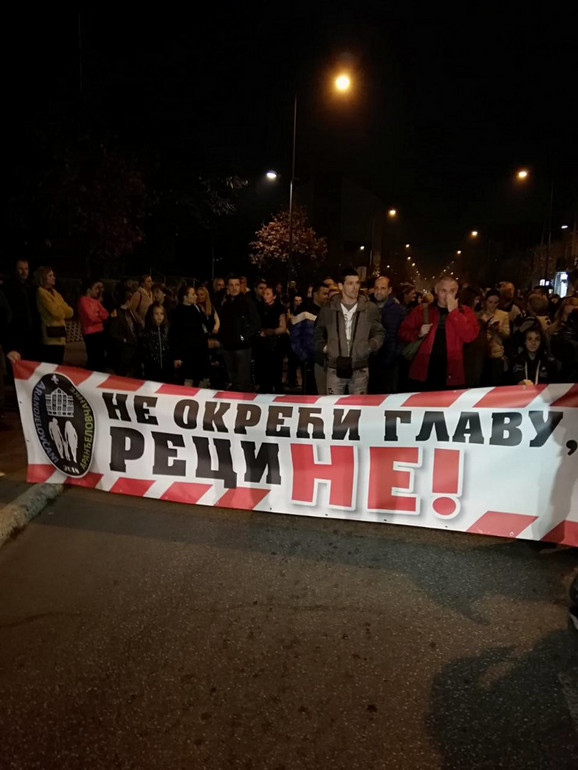 Podigli glas protiv dilera: Protest u Aranđelovcu