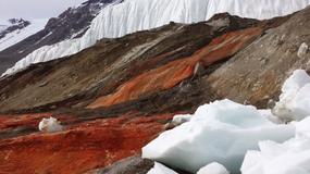 """""""Krwawe"""" wodospady na Antarktydzie"""