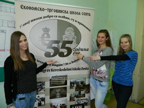 Odlikašice: Vivien Gereg, Violeta Tandari i Brigita Domonkoš