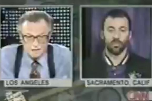 """""""Zabrinut sam i za Albance, ali Kosovo je duša Srbije, za to bi svaki Srbin poginuo!"""" Leri King je preminuo, a evo kako mu je Divac objasnio NATO bombardovanje"""