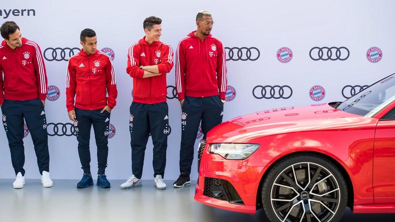Robert Lewandowski ma nowy samochód. To Audi RS 6 Avant performance