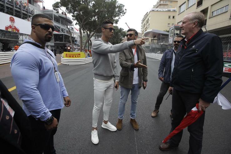 Kristijano Ronaldo, Luis Hamilton