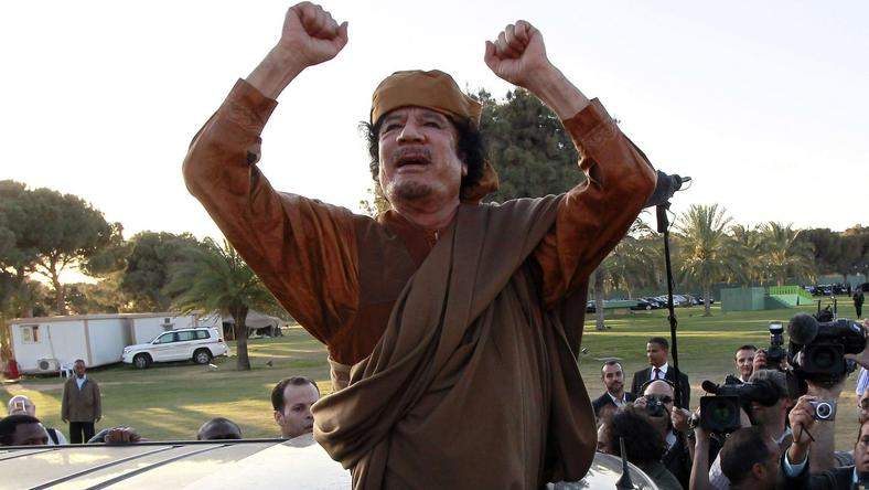Muammar Kaddafi, fot. Reuters