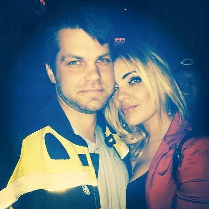 Dennis Sloboda ze swoją żoną