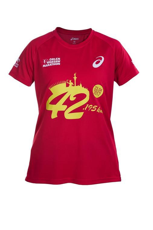 Orlen Warsaw Marathon - koszulka damska