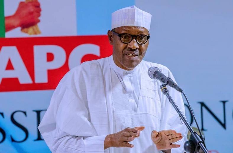 President Muhammadu Buhari [@BashirAhmaad]