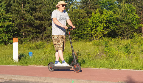 Mi Electric Scooter Pro - Robert testuje