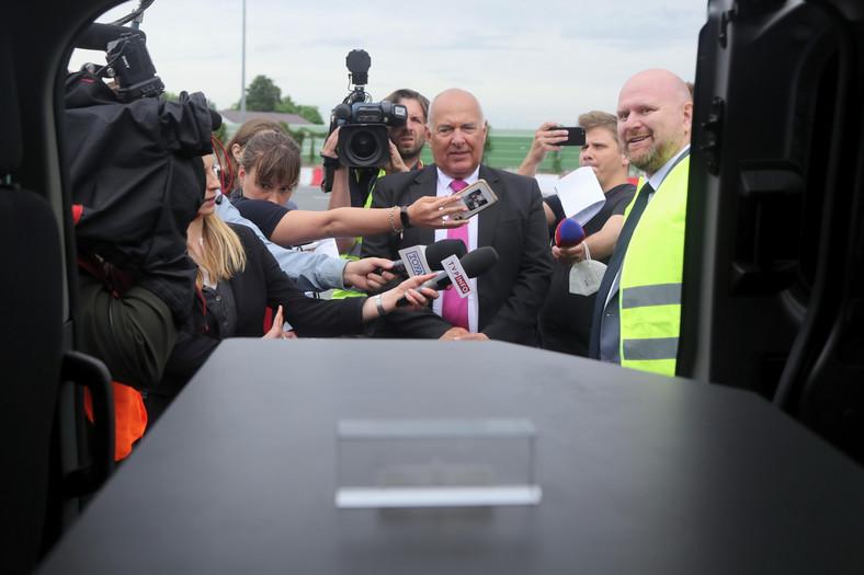Nowy radiowóz do kontroli opłaty drogowej e-TOLL