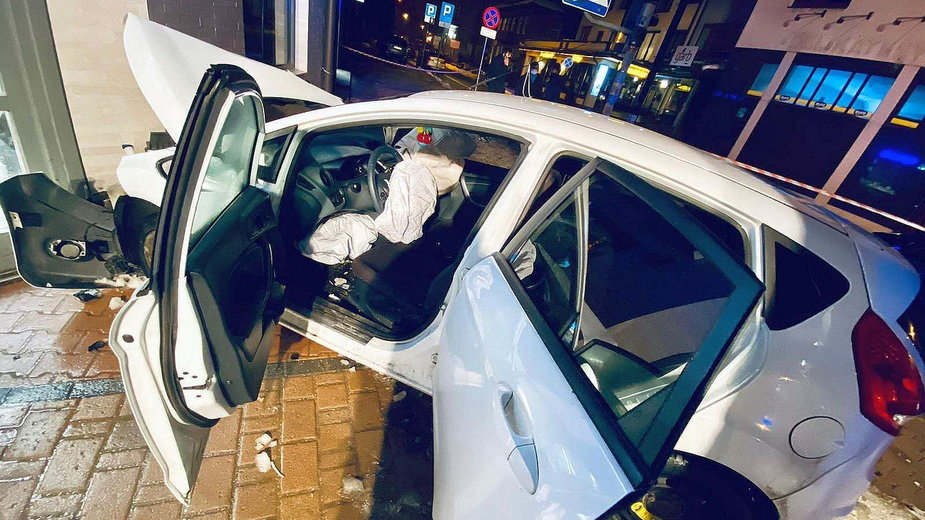 Wypadek w Zakopanem