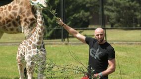 Marcin Gortat zasmucony śmiercią żyrafy