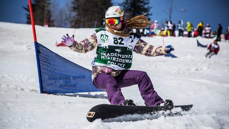 Akademickie Mistrzostwa Polski w Snowboardzie fot. TadekJezier