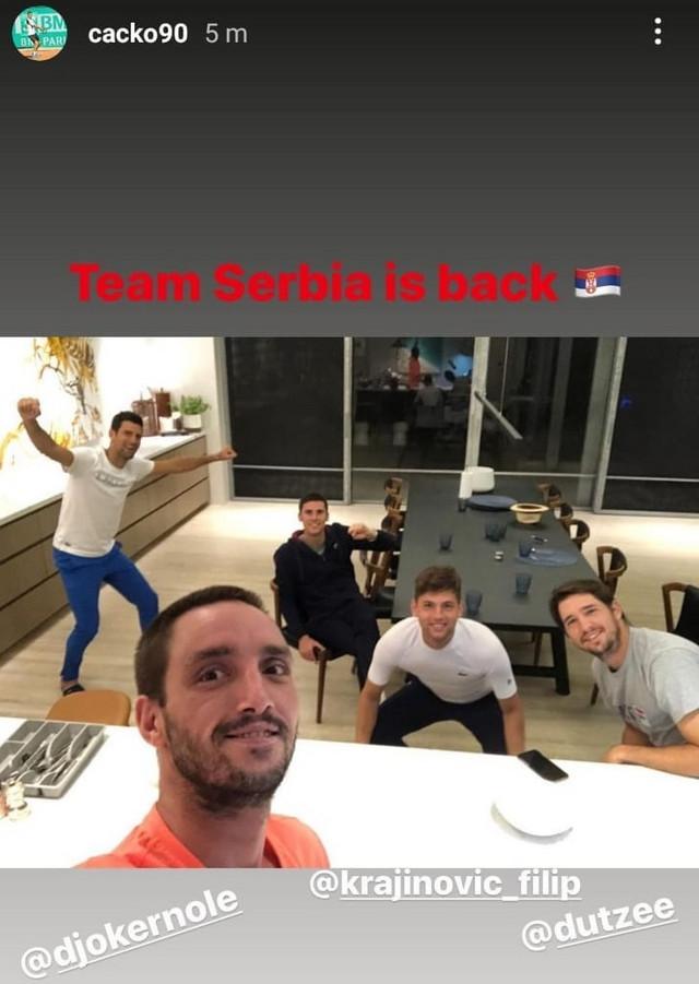 Teniseri Srbije spremni za ATP kup