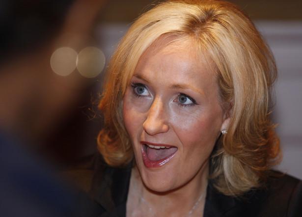 J.K Rowling. Fot. Andrew Harrer/Bloomberg