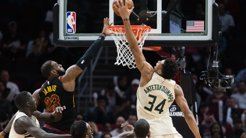 LeBron James i Giannis Antetokounmpo