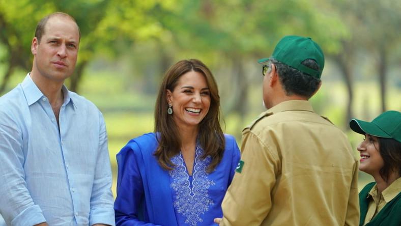 Para książęca przyjechała do Pakistanu na 5 dni, z pierwszą od 13 la wizytą...
