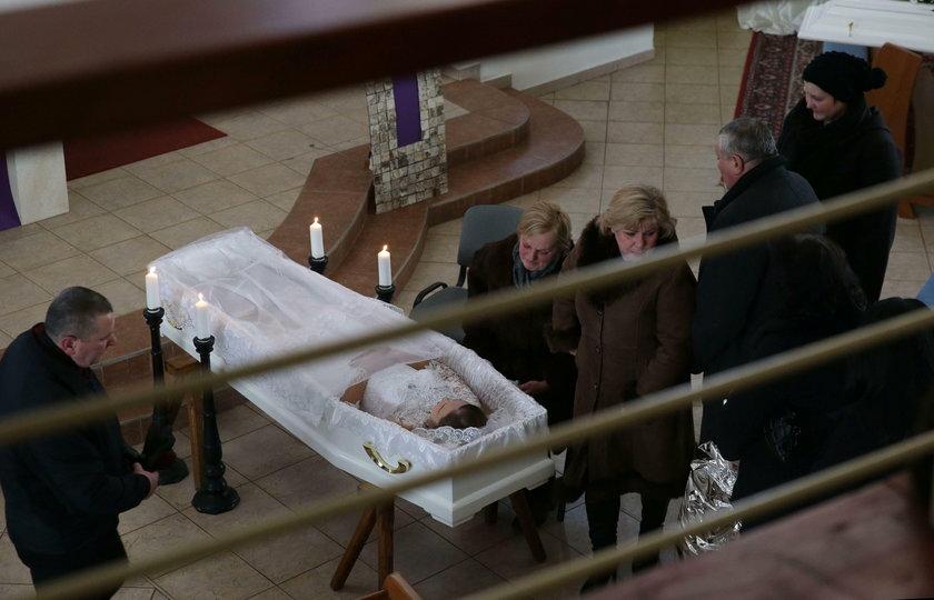 Pogrzeb Martiny