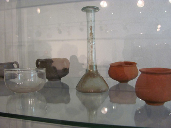 Predmeti izloženi u Narodnom muzeju u Leskovcu
