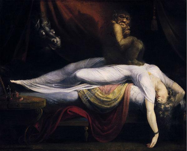 """""""The Nightmare"""", de John Henry Fuseli (foto: wikipedia.org)"""