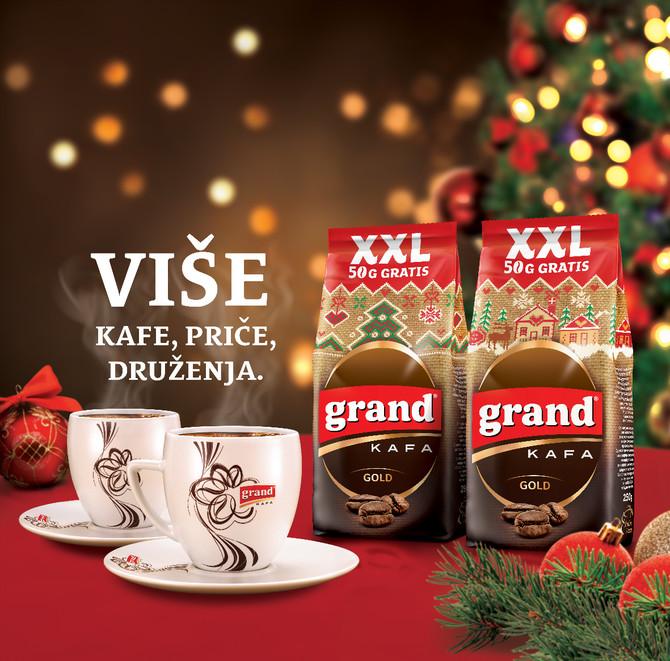 Novo praznično pakovanje Grand kafe Gold