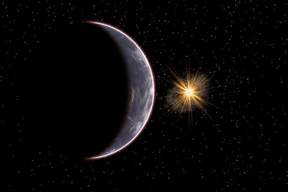 Umetnička vizija Planete 9