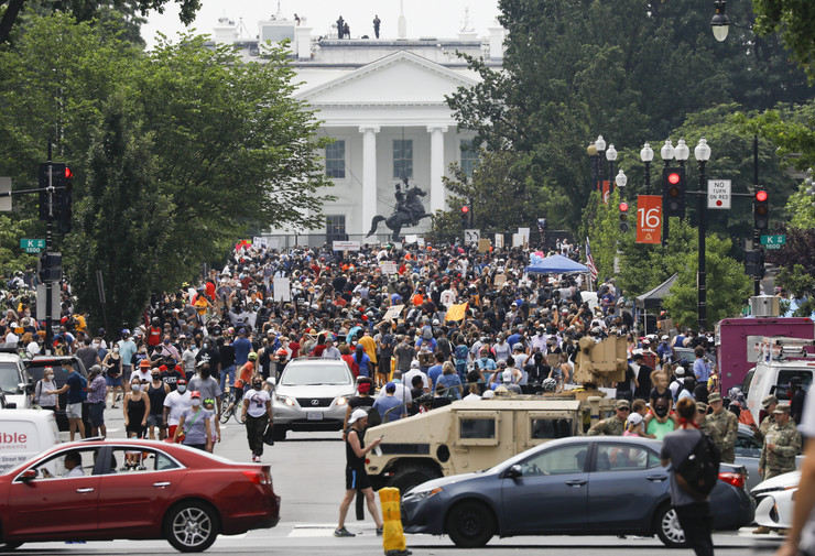 Vašington, protesti