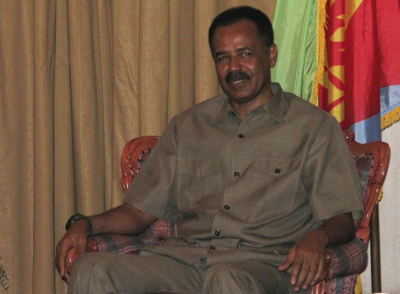 Eritrean leader Isaias Afwerki