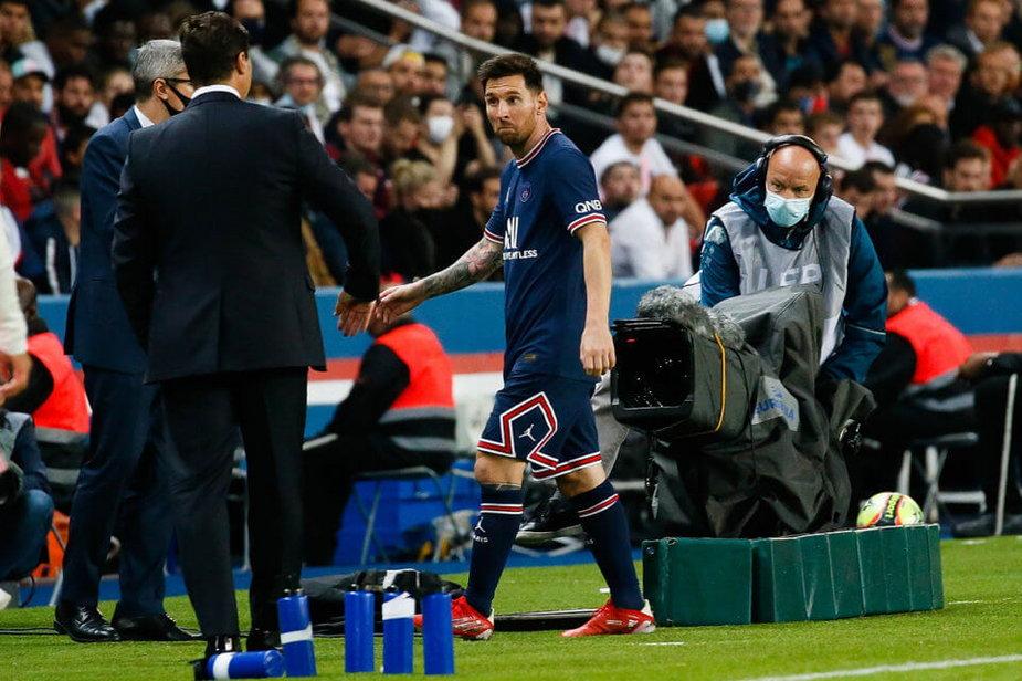 Mauricio Pochettino i Lionel Messi