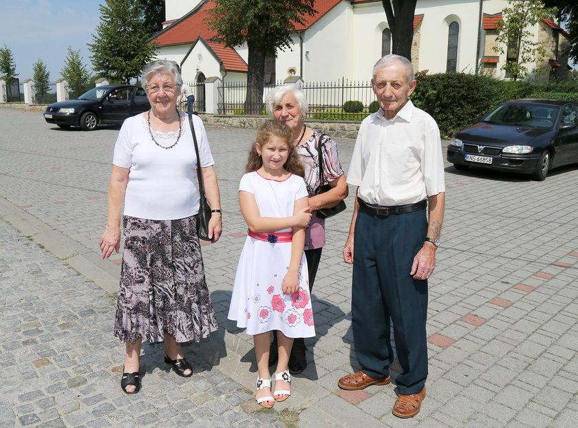 Parafianie z Lipnicy