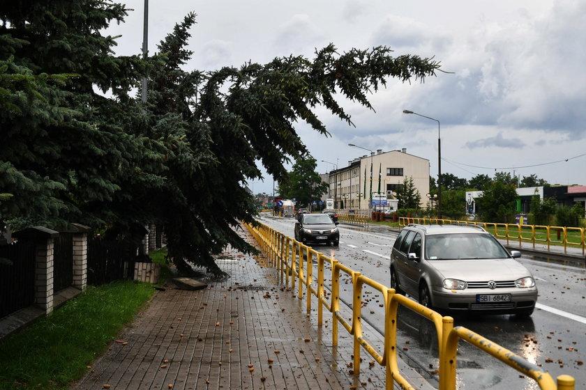 Dramatyczne skutki burz. 6 osób w szpitalu. Dziś też będzie groźnie