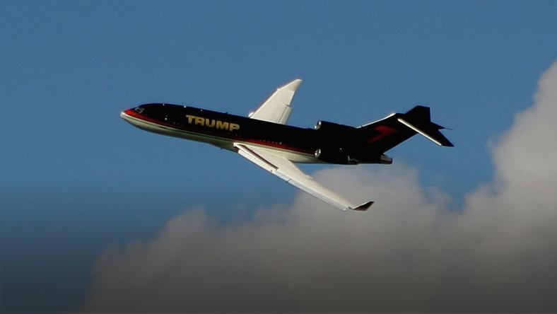 Prywatny samolot Donalda Trumpa nazywany jest Trump Force One