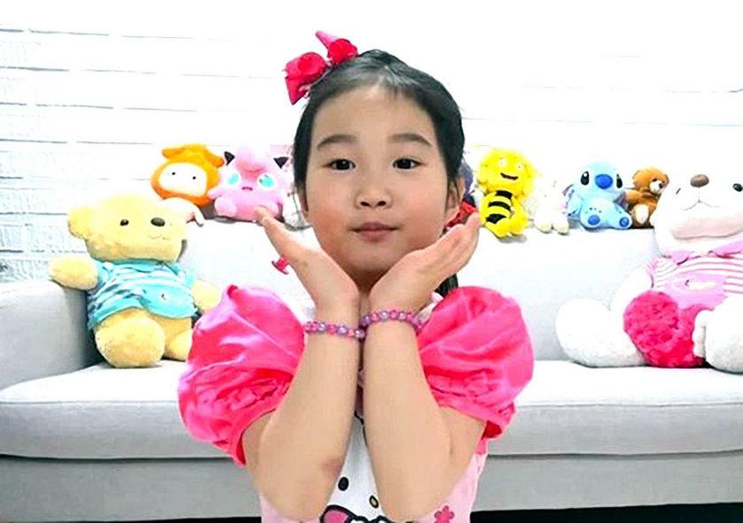 Korea: 6-letnia gwiazda YouTuba -Boram ma miliony na koncie i apartamentowiec
