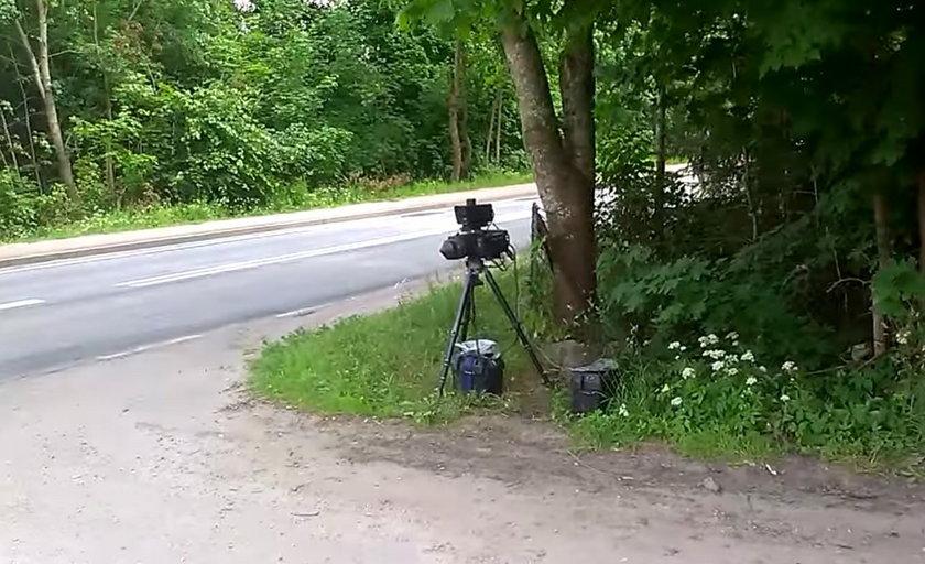 Fotoradar w Miłkach na Mazurach zarabia na pensję dla urzędników