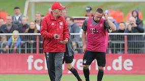 Carlo Ancelotti strofuje Francka Ribery'ego