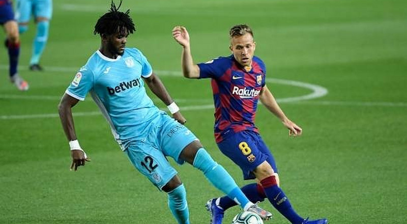 Chidozie Awaziem gets found out as Leganes fall to Barcelona