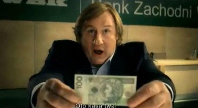 Chuck Norris - reklama BZ WBK