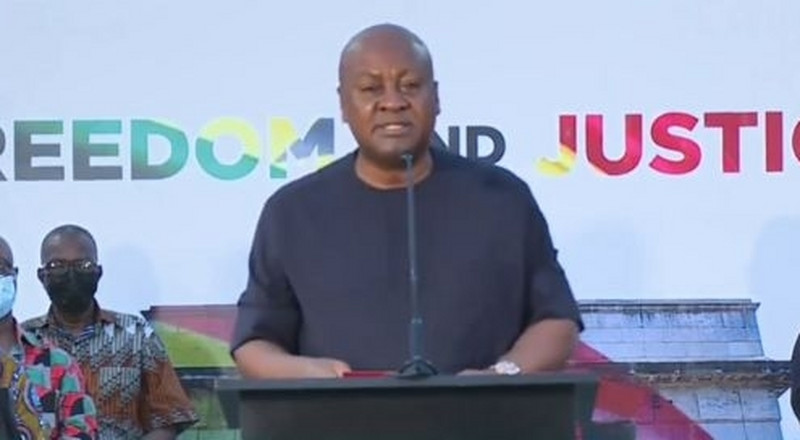 Jean Mensa-led EC illegally declared parliamentary seats for NPP - Mahama