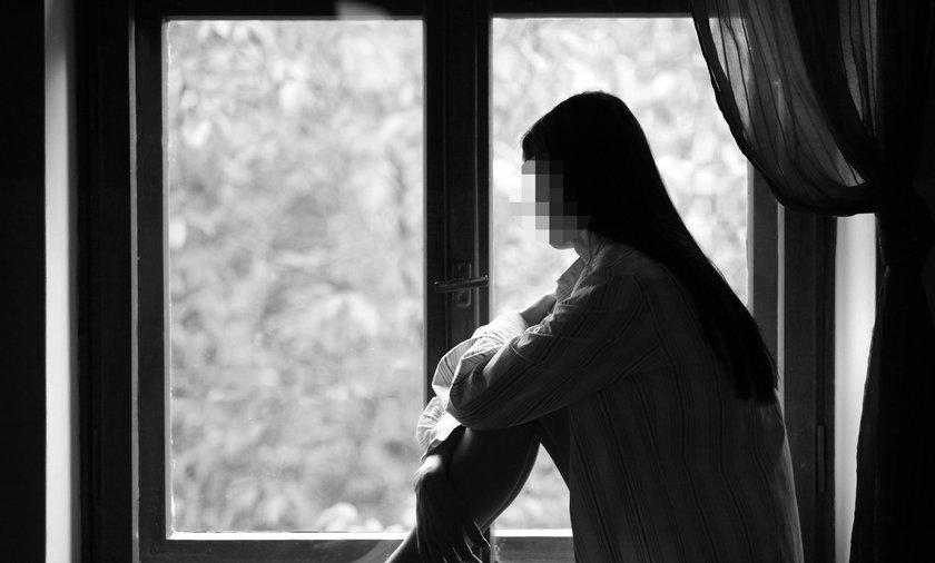 Zgwałcona kobieta
