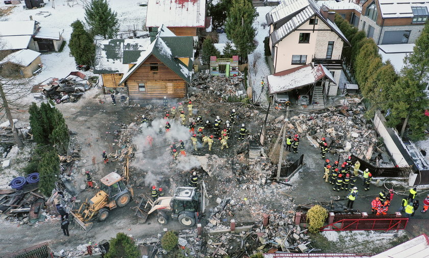 Wybuch gazu w Szczyrku. Zginęła niemal cała rodzina