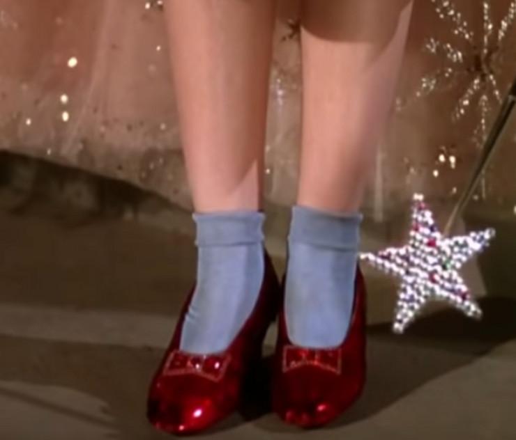 """Cipele iz filma """"Čarobnjak iz Oza"""""""