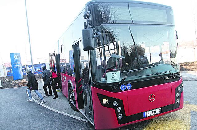 Autobus na liniji 36