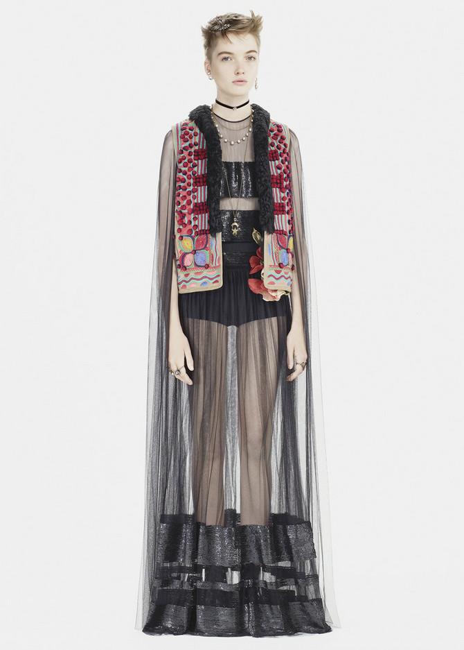 Sporni model prsluka iz Dior kolekcije za jesen 2017