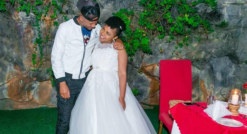 DJ MO and Size 8. Wedding Anniversary