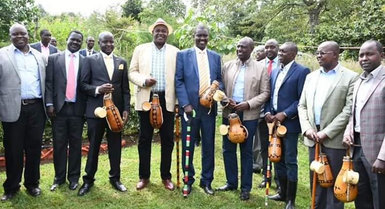 DP William Ruto accompanied his younger brother David Ruto to negotiate for dowry