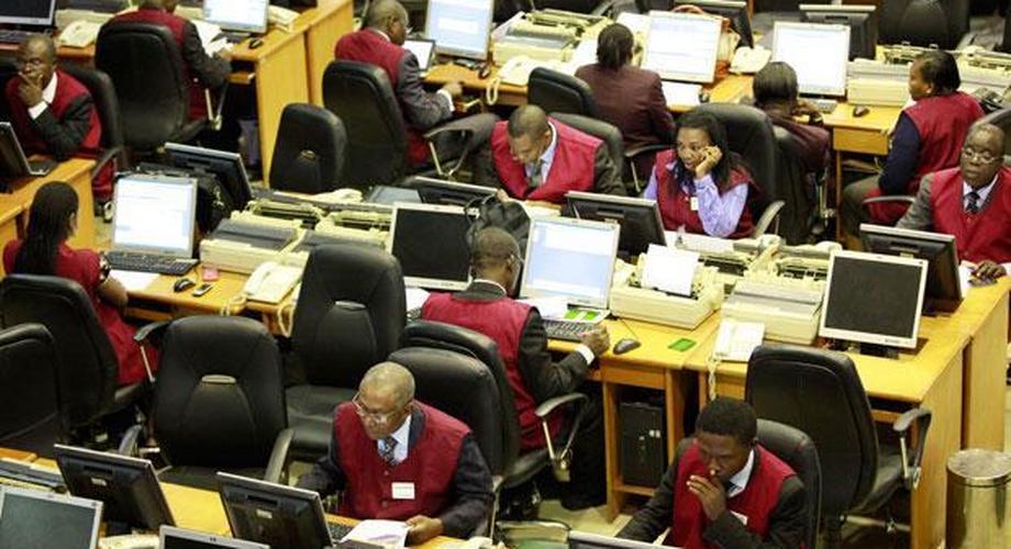 The Nigerian stock exchange.