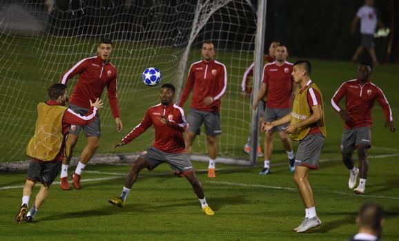 Poslednji trening crveno-belih pred duel sa Napolijem