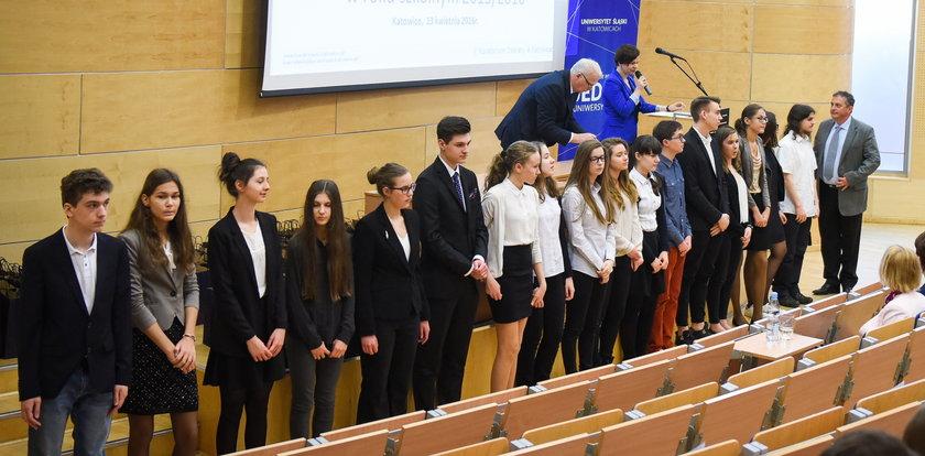 Najlepsi śląscy gimnazjaliści odebrali dyplomy