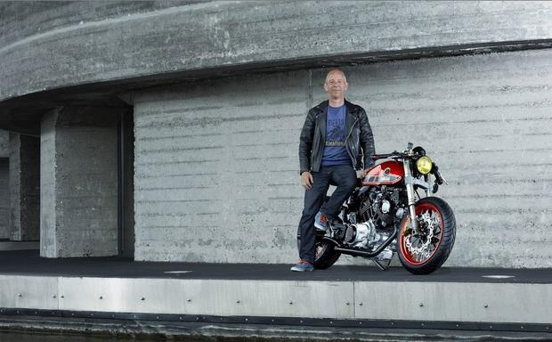 Yamaha TR1 Cafe Racer i jej twórca - Ronald Snel